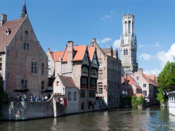 Bruges ville romantique circuit v lo libert en toile for Hotel romantique belgique
