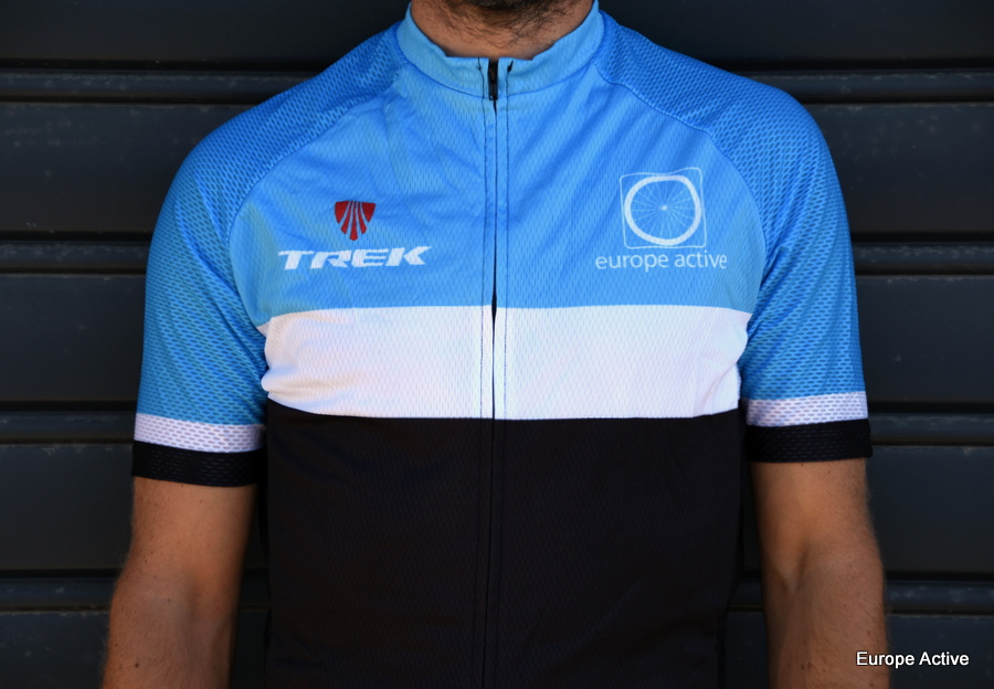 Maillot cycliste Europe